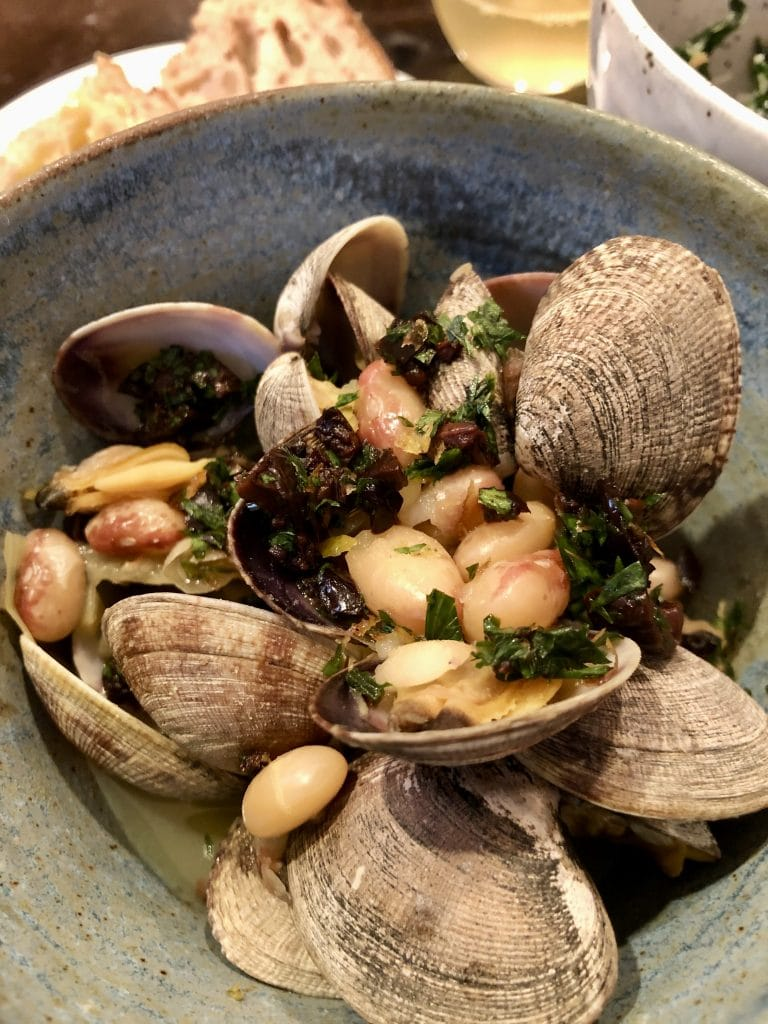 Little Neck Clams and Rockwell Bean Stew