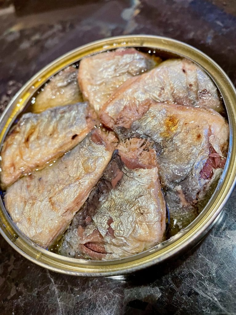 Grilled Basque Sardines