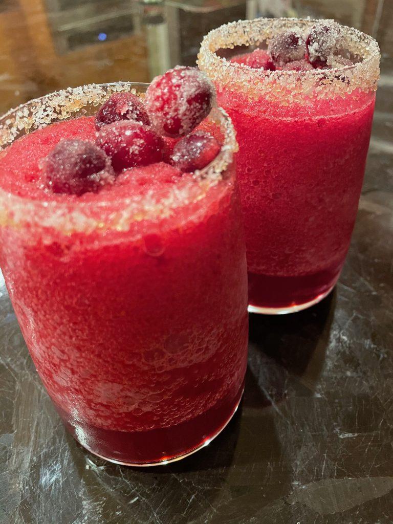 Frozen Cranberry Margarita