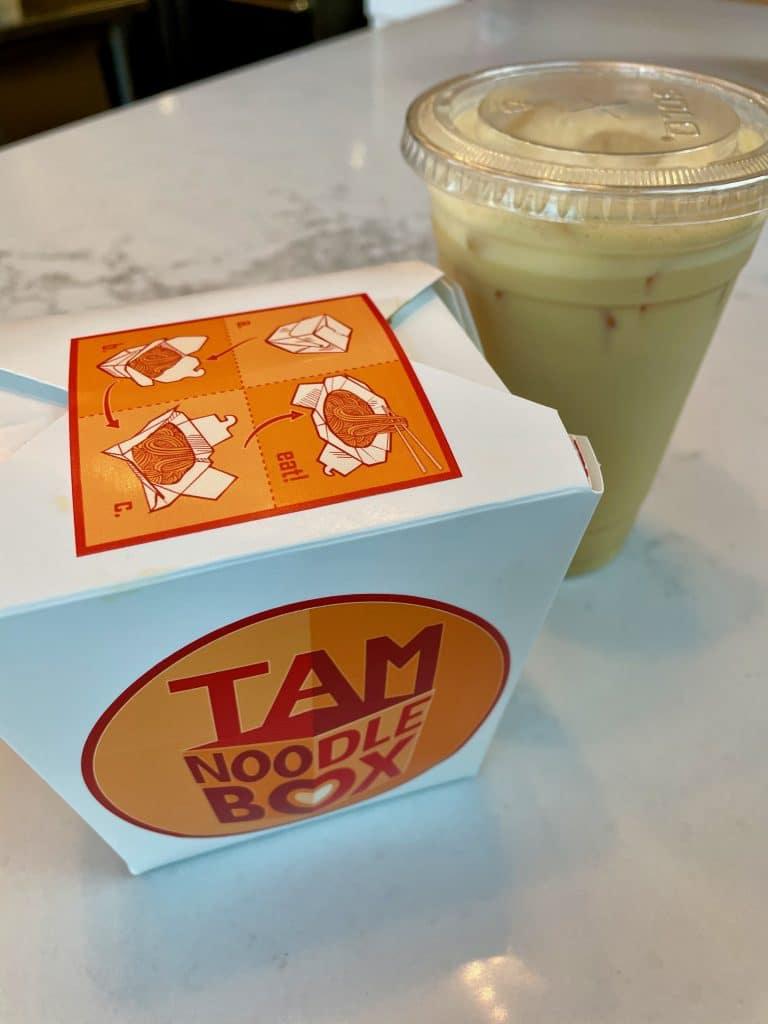 Order Up with Mango Milk Tea