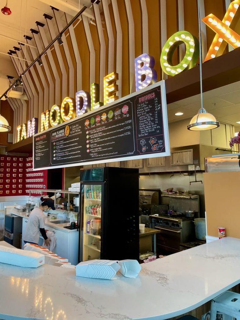TAM Noodle Box